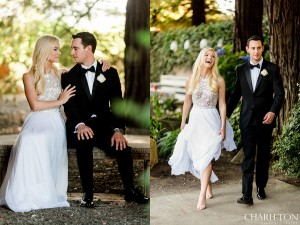 trentadue winery wedding couple