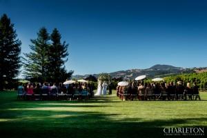 ceremony at trentadue winery