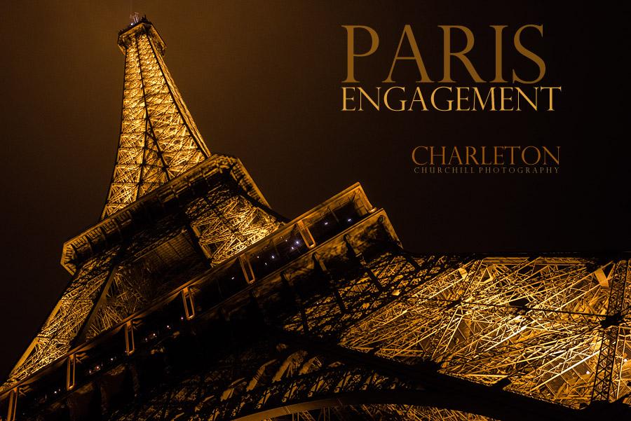 Paris Engagement photography intro