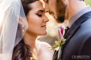 up close romantic wedding day photos