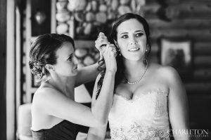 cabin bride in arnold, ca.