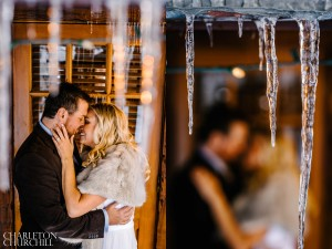 sorensons resort winter snow wedding photos