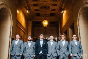 groomsmen at citizen hotel lobby