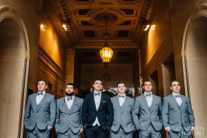 groomsmen at citizen hotel lobby