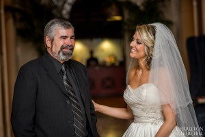 cute dad and bride photos