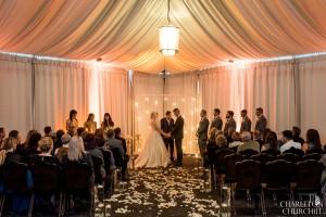 The Citizen hotel wedding ceremony inside