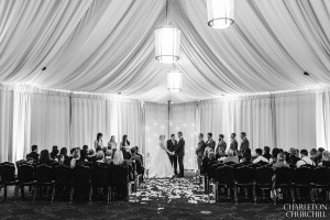Citizen wedding hotel ceremony setup