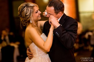 daddy crying during bride dance