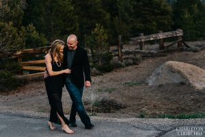 cute engagement photos in the country