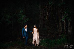 deep woods wilderness wedding photograrpher