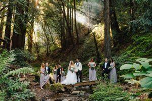 wedding photos at saratoga springs ca