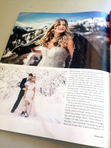 featured in one of top photography industry magazine
