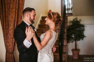 coloma bride + groom