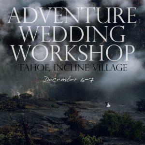 adventure photography workshop for weddings