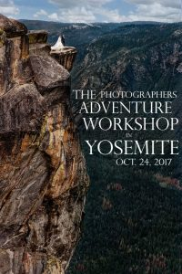 Yosemite adventure photography workshop for wedding and portrait photographers, sign up today