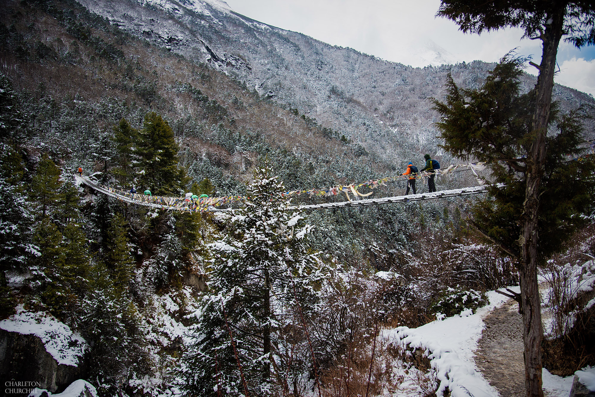more bridges on trek of ebc