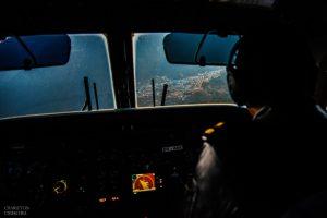 landing at lukla aiport