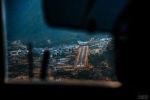 landing pad at lukla airport the shortest runway most dangerous