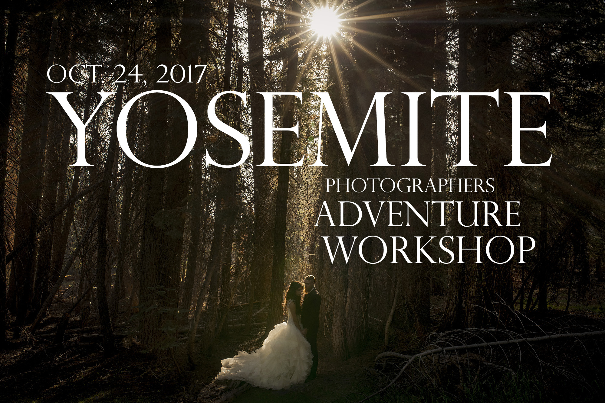 adventure wedding photographer workshop in Yosemite national park