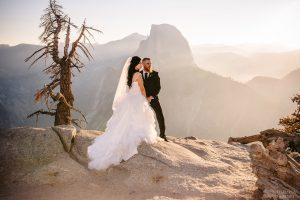 wedding photos at yosemite national park