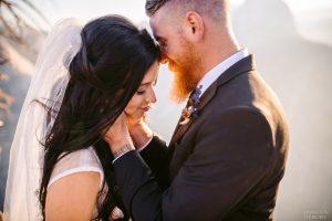 romantic epic wedding photos at yosemite