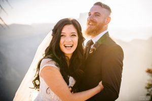 fun yosemite wedding