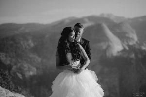 beautiful yosemite wedding photos