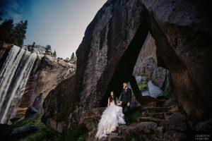 adventure wedding in yosemite