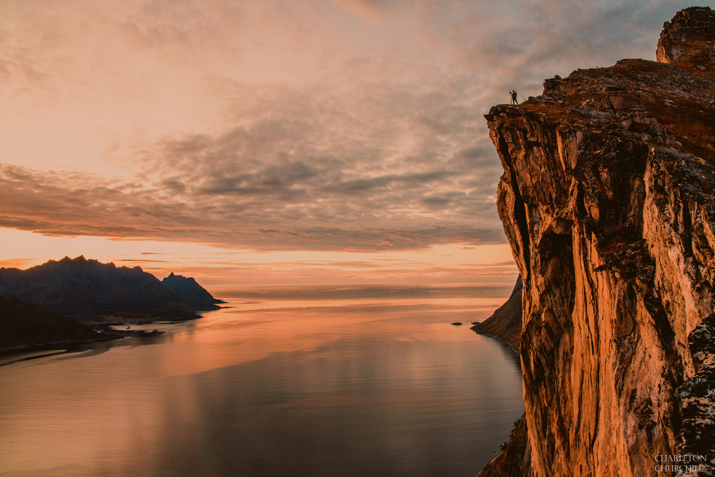 cliff photos of norway by adventure wedding photographer charleton churchill