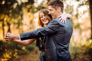 engagement photo session in amador county