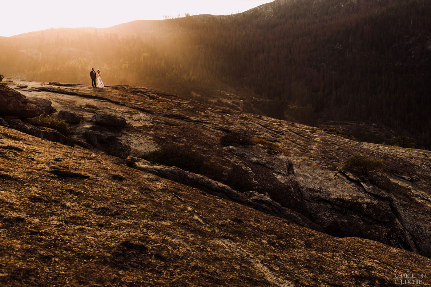 epic wedding photography at yosmite park elopement photos