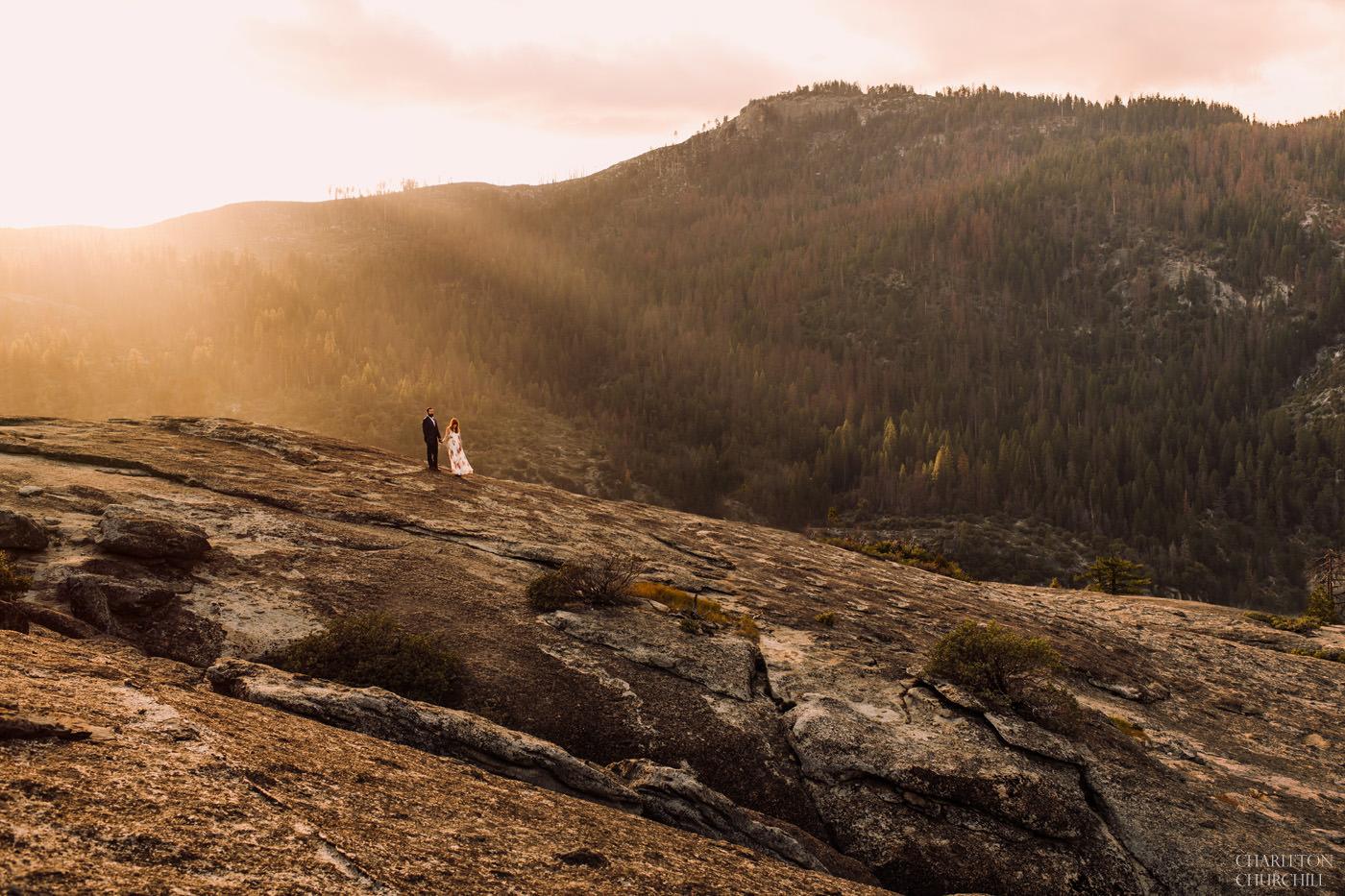 epic adventure wedding photos in Yosemite