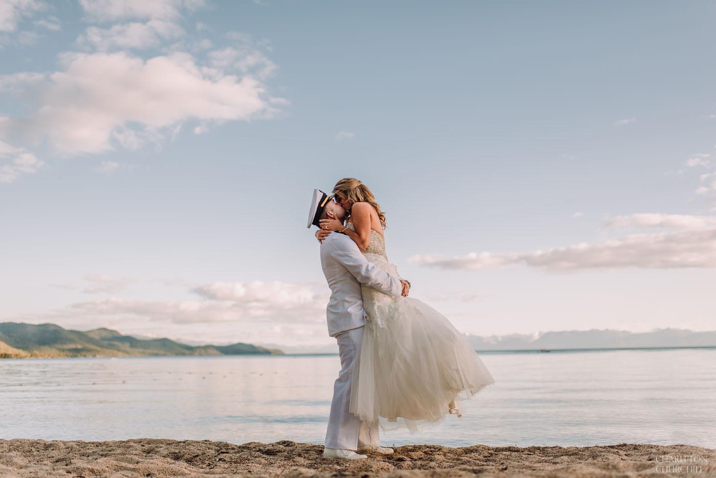 lake tahoe Hyatt regency wedding photos