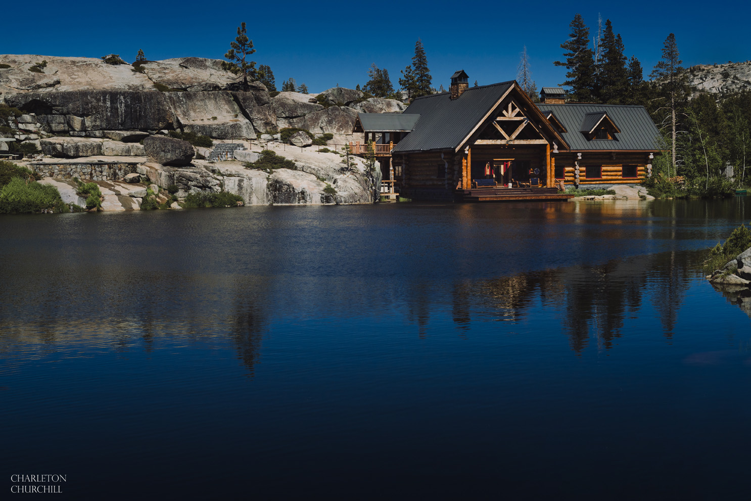 the lodge at kirkwood The Hideout on the private lake surrounding national forest land