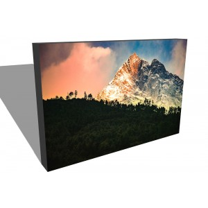 canvas gallery wrap of Everest trek morning mountain