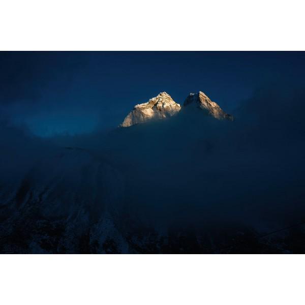 Mt. Everest trek, glimmer of light